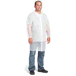 West Chester Standard Wt. SBP Lab Coat w/Elastic Wrist