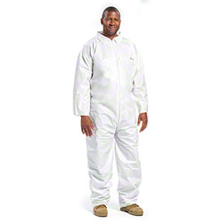 West Chester Posiba Microporous White Basic Coverall