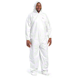 West Chester Posiba White Coverall Hood & Boot