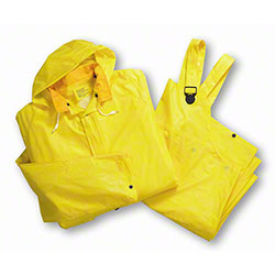 West Chester Yellow Single Ply Rain Suits