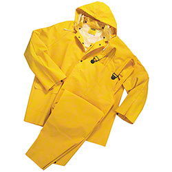 West Chester Yellow Double Ply Rain Suits