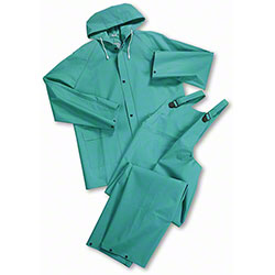 West Chester Heavy Duty 40 ml 2-Piece Acid Rainsuit
