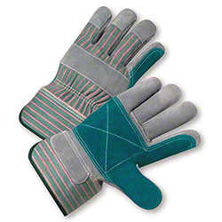 West Chester Double Palm Shoulder Leather Gloves