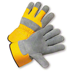 West Chester Safety Yellow Select Shoulder Leather Gloves