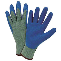 West Chester Crinkle Latex Palm Dip Gloves