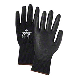 West Chester Black PU Coated Palm Cut Resistant Gloves