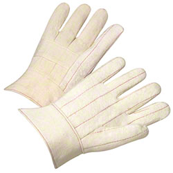 West Chester Cotton Hot Mill Band Top Glove - Large
