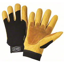 West Chester Ironcat® Premium Grain Cowhide Palm Gloves