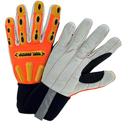 West Chester R2 Cotton Corded Palm Gloves