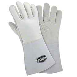 "West Chester Ironcat® Premium Elk 14"" White Stick Gloves"