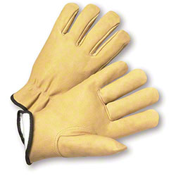 West Chester Premium Grain Pigskin Leather Driver Gloves