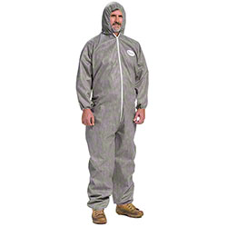 West Chester Posi M3 Gray Coverall Hood Elastic Wrist/Ankle