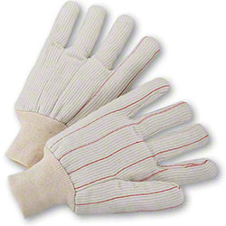 West Chester Cotton Corded Double Palm Knit Wrist Glove