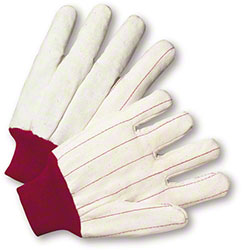 West Chester Double Palm w/Red Wrist Glove - XL
