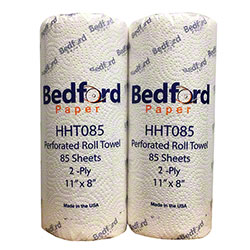Bedford 2 Ply Household Towel - 85 ct., White
