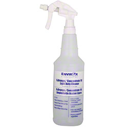 EnvirOx® Blue Empty Spray Bottle For H2O2 Orange Cleaner