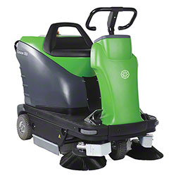 "IPC Eagle Genius 1050E Rider Sweeper - 42"", 230AH, Charger"