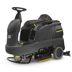 "Karcher® B 90 R ADV Bp Ride-On Scrubber w/D65 Scrub Deck - 26"", 255AH"