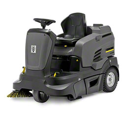 Karcher® KM 90/60 R Bp Adv Electric Ride-On Sweeper -234AH