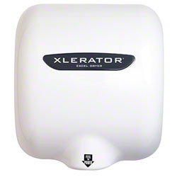 SSS® Xlerator® Hand Dryer -White Epoxy, 110/120V, 12.5 A