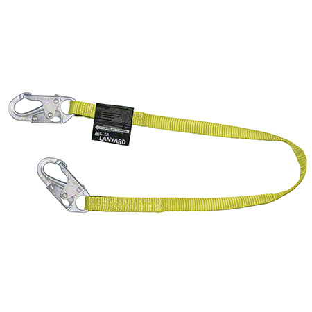 Miller Positioning & Restraint Lanyard - 3', Yellow