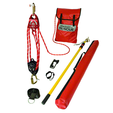 Miller QuickPick™ Standard Rescue Kit - 100'
