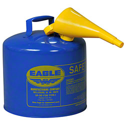 Eagle 5 Gallon Kerosene Type I Safety Can w/Funnel