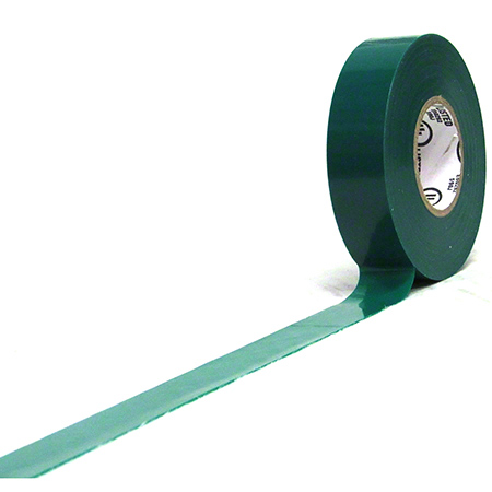 "Harris All Weather Vinyl Electrical Tape - 3/4"" x 66', Green"
