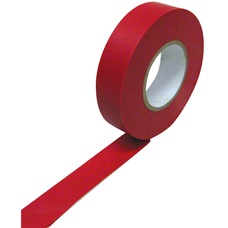 "Harris All Weather Vinyl Electrical Tape - 3/4"" x 66', Red"