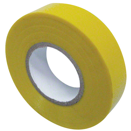 "Harris All Weather Vinyl Electrical Tape -3/4"" x 66', Yellow"
