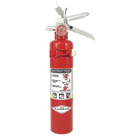 ABC Multi-Purpose Dry Chemical Extinguisher - 2 1/2 lb.