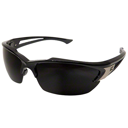 Khor Eyewear - Black Frame/Polarized Smoke Lens