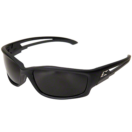 Kazbek Eyewear - Black Frame/Polarized Smoke Lens