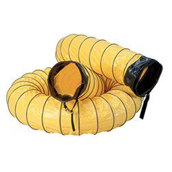 "Ventilation Duct 12"" dia x 25', Yellow"
