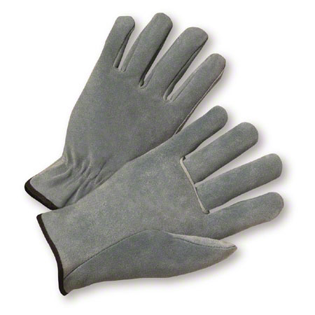 West Chester Split Cowhide Unlined Drivers Glove - Medium