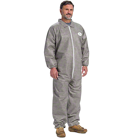 West Chester Posi-Wear M3 Gray Coverall - Medium