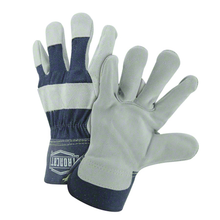 West Chester Ironcat® Premium Leather Double Palm - Large