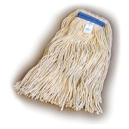 AWM7532 4-PLY WEAREVER MOP 32OZ COTTON SADDLE 12/PKG