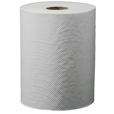 "US 4016 WHITE ROLL TOWEL 8"" X 350'/RL 12RL/CS"