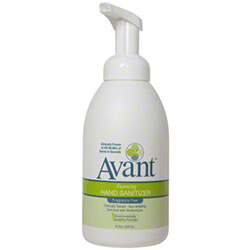 B4 Avant® Foaming Fragrance-Free Instant Hand Sanitizer - 18 oz. Pump