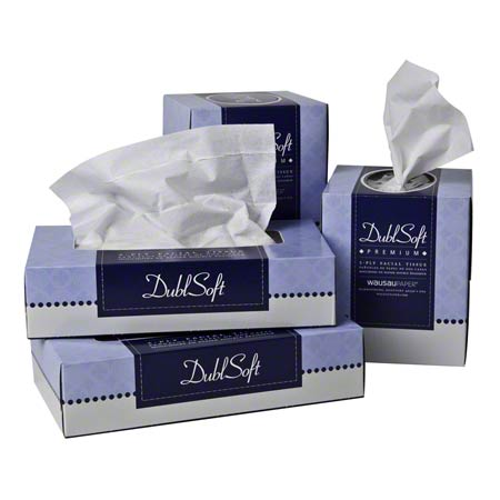DS6185 DUBLSOFT FACIAL TISSUE 36/CS (CUBE)