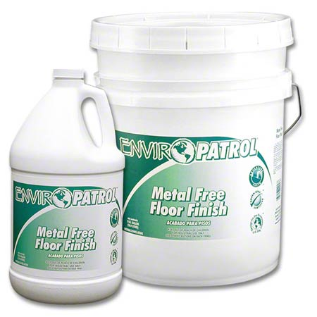 66728 ENVIRO-PATROL METAL FREE FLOOR FINISH 4-1 GAL/CS