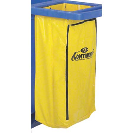 188YW YELLOW VINLYL REPLACEMENT BAG FOR MAIDS CART