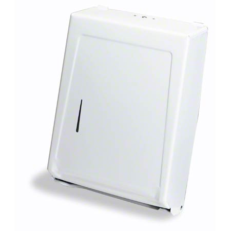 IMP4090W MULTI-FOLD & C-FOLD TOWEL CABINET DISPENSER WHITE