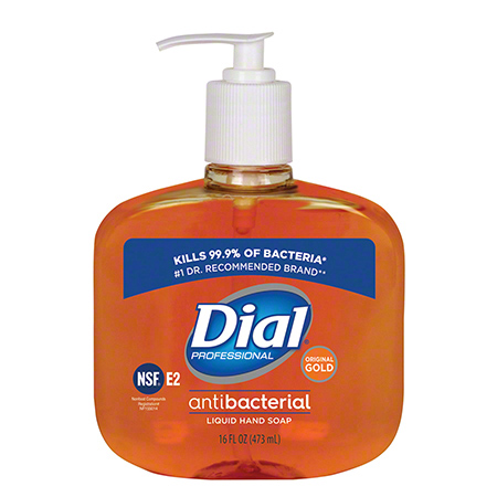 DIA 80790CT LIQUID DIAL GOLD ANTIMICROBIAL SOAP 12/16OZ/CS