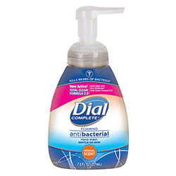 DIA 02936 DIAL ANTIBACTERIAL FOAMING HAND SOAP 7.5OZ