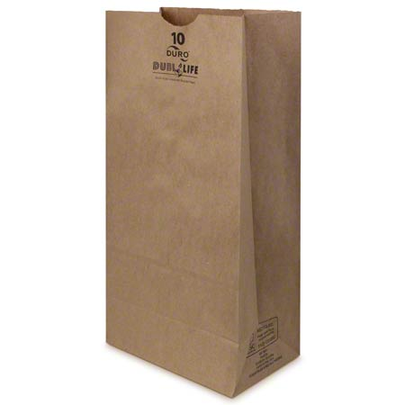 (18402) GK2-500 #2 KRAFT GROCERY BAG  500/BALE