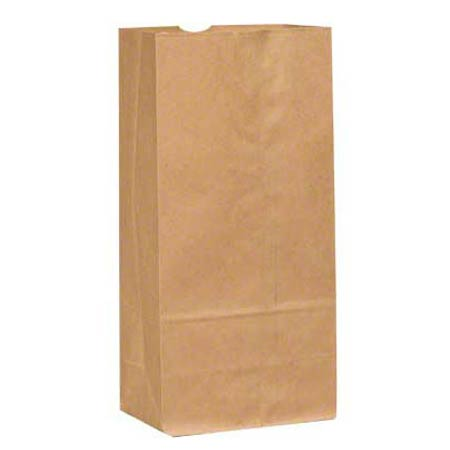 10# BROWN GROCERY BAG 500/BALE