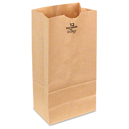 BAG GX12-500 12# PAPER BAG 57# BASE BROWN KRAFT 7-1/16 X