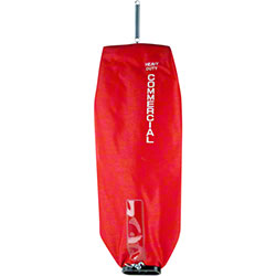 53506-8 RED CLOTH BAG W/ZIPPER FOR SANITAIRE